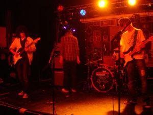 Stripey Jack onstage