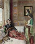 John Frederick Lewis, Hhareem Life, Constantinople, 1857. Courtesy Laing Art Gallery, Tyne & Wear Archives & Museums