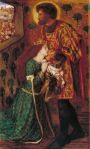Dante Gabriel Rossetti, St George and Princess Sabra, 1862 C Tate, London