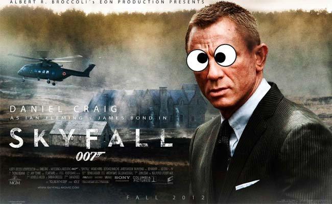 movie review sample skyfall film