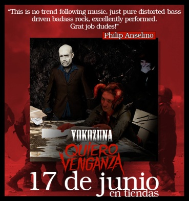 Phil Anselmo (of Pantera/Down) praising Quiero Venganza. Source: Yokozuna.